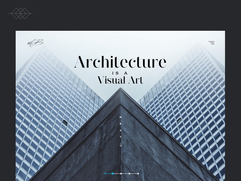 Day 018 | Architecture is visual art - UI Design