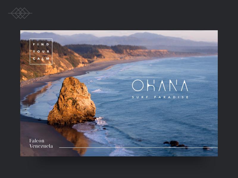 Day 019 | Ohana Surf Paradise Landing page