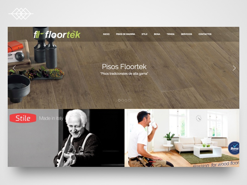 Day 020 | Floortek Feeling Wood - Website