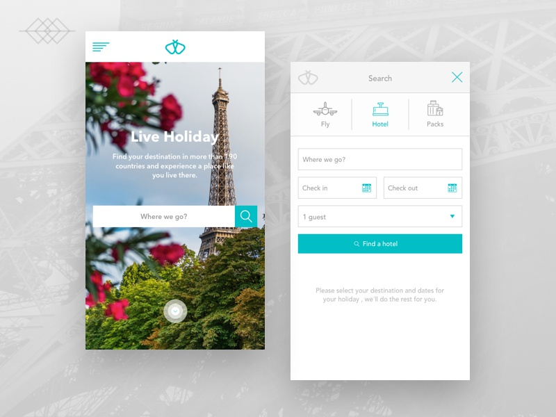Day 024 | Mobile Booking App UI