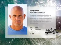 Fluent Design System - Kelly Slater Surfer