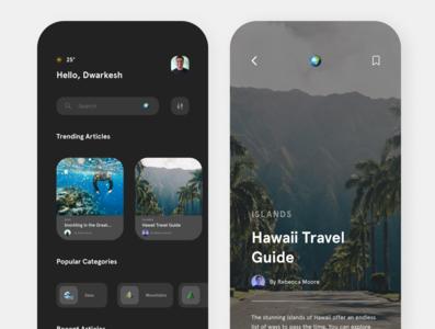 Travel App 1 website web ux ui minimal illustrator illustration design branding app