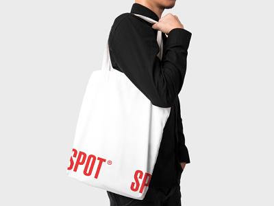 SPOT - элементы фирменного стиля brand identity design idenity red logotype logo design branding