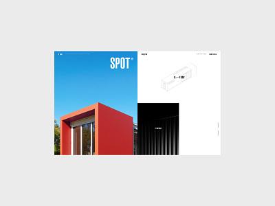 SPOT - дизайн-концепция сайта
