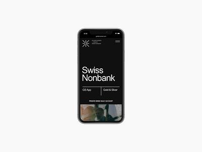 Golden Suisse - мобильная версия web corporate adaptive design mobile ui mobile adaptive ui ux design black digital website webdesign