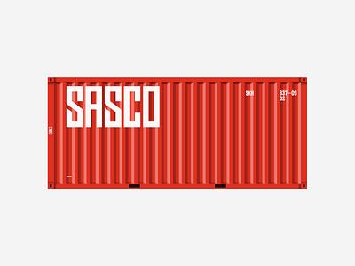 SASCO - брендинг red logodesign logotype logo logos corporate branding design brand identity brand design branding brand