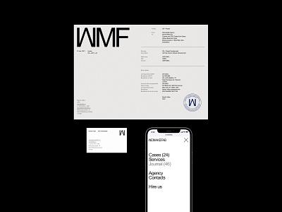 Wemakefab – комплекс элементов brand identity brand logo design website design web branding corporate ux ui website webdesign