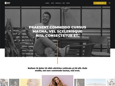 Photo Child – 7-Page Website Template ui ux web ui design design vector