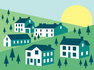 10 Vector House Illustrations illustration design vector