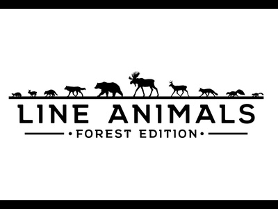 10 Animal Line Illustrations