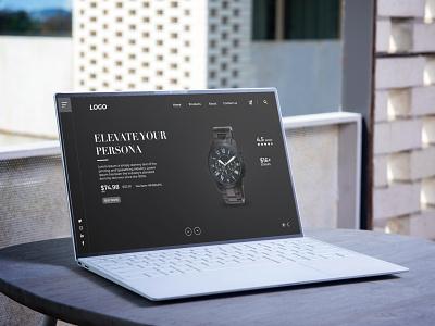 Landing Page Design website