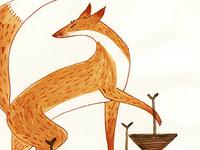 Stepping Fox