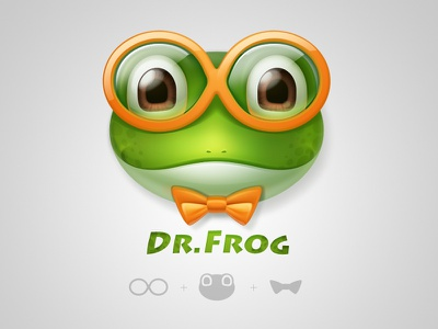 Dr.frog dr frog icon logo