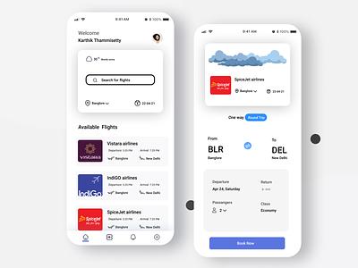 Flight ticket booking app ui app ui design app ui ux typography uiux ui designer branding app ui uxdesign user experience design appdesigner flightticketbookingappui uidesign