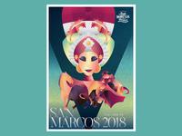 Feria de San Marcos Poster