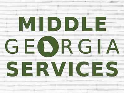 Middle Georgia Services Logo logo design brand identity brand design vector logo design typography branding