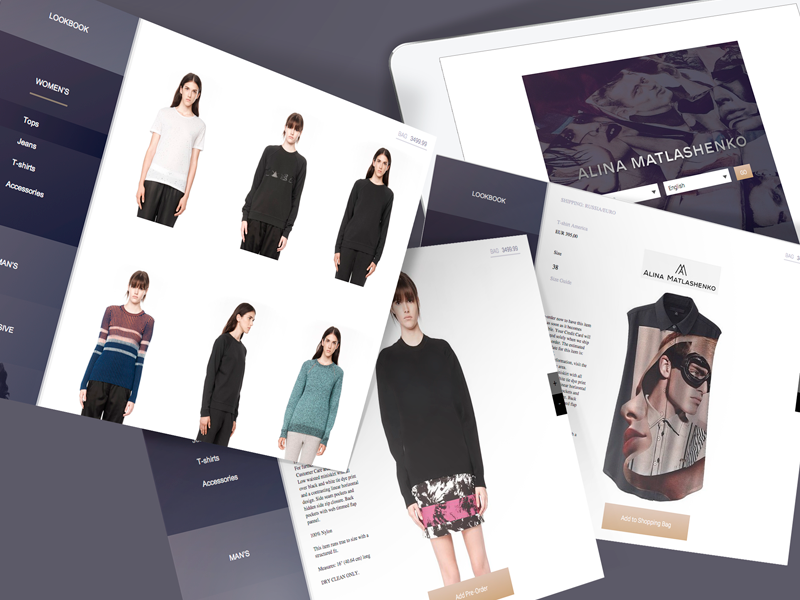 Fashion Designer Ipad App By Yuri Yurchenko On Dribbble