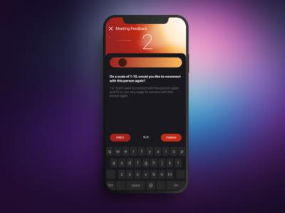 Notalone app UI