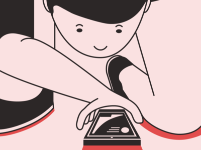 Illustration for Site airbnb uber design simple ui  ux design app illustration illustrator