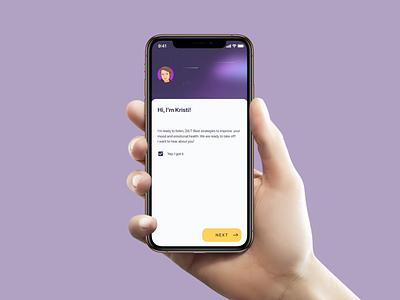 NOTALONE App ux design ui design app design app