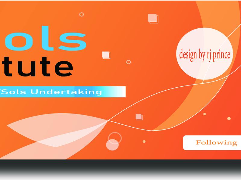 Own Banner Design (design by rj prince) logo branding illustration design icon