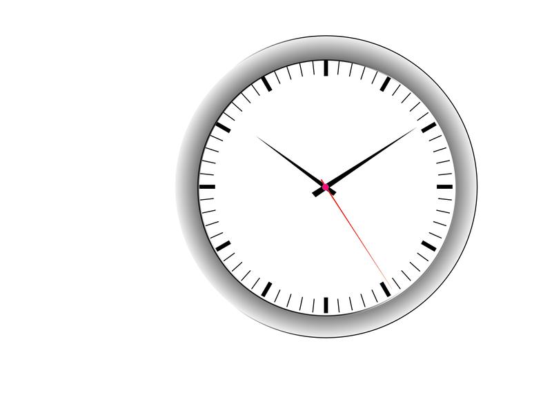 Clock Design (design by rj prince) branding illustration design