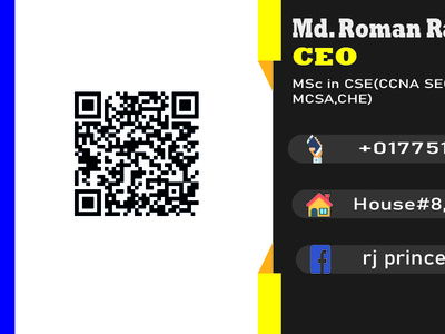 Business Card Design (design by rj prince) icon branding illustration design