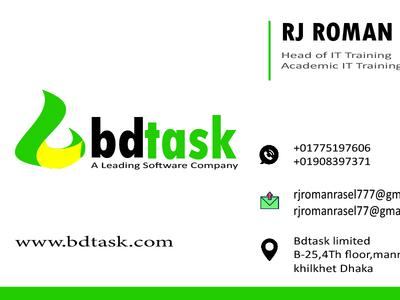 Business Card Design (design by rj prince) branding illustration design