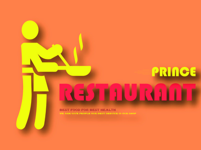 Restaurant Logo Design (design by rj prince) illustration logo icon design