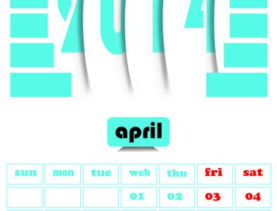 Calendar Design (design by rj prince ) calendar design