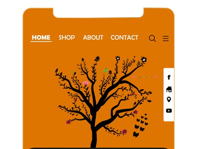 Mobile UI Design (design by rj prince) illustration ui
