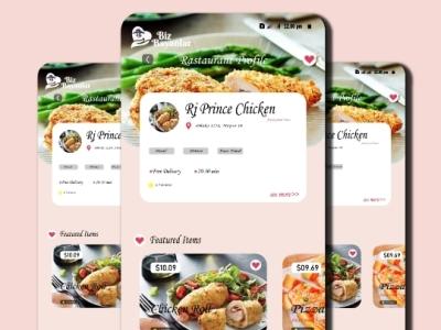 Mobile UI Design (design by rj prince) ux ui