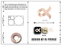 'OX' Letter mark Logo Design (design by rj prince) design icon logo