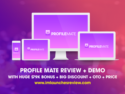 Profile Mate Review - Should I BUY ProfileMate Software ? profile mate otos profile mate otos