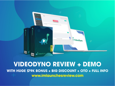 VideoDyno Review + Huge $79K Bonus + OTO + 90%OFF videodyno download videodyno download