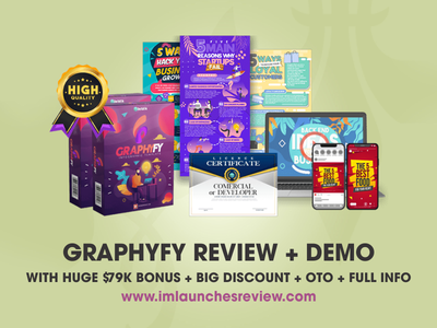 Graphyfy Review + Huge $79K Bonus + 75% OFF + OTOs graphyfy download graphyfy download