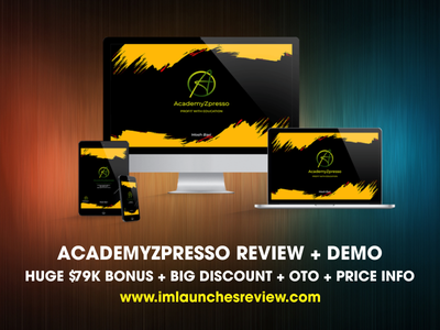 AcademyZPresso Review - Does It Really Worth Your Cash? academyzpresso download academyzpresso download