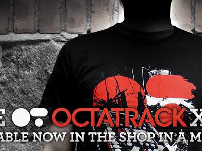 Octatrack Xerox Tee octatrack elektron tshirt tee black red xerox