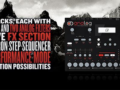 Elektron Analog Four Broschure elektron synthesizer knockout mountains