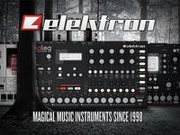 Elektron Analog Four Broschure Cover