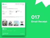 017   email receipt   banner