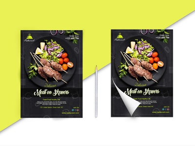 Flyer for Restaurant design graphic graphic designer illustration graphixtion graphic design poster design posters poster flyers restaurant flyer design flyer flyer template