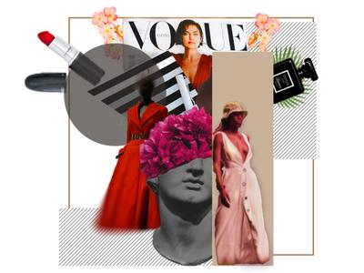 FASHION concept art digitalart fashion collage design