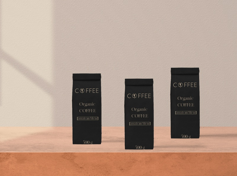 Coffee blend Mock up branding mockup product design design
