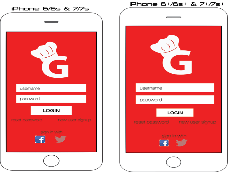 Login Screens for iPhone login screens apps