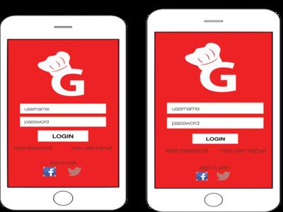 Login Screens for iPhone