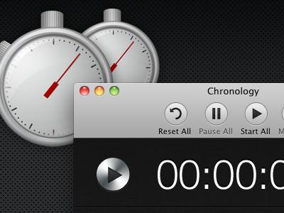 Chronology for Mac mac app ui icon