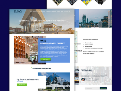 powai ui uidesign homepagedesign pegalogics development design
