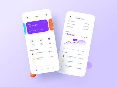 Finance Bank Mobile App UI fintech app fintech uiux uidesign appdesign app design mobile ui