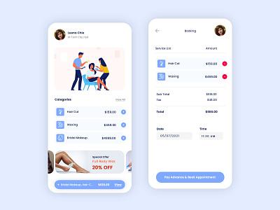 Parlor Mobile App Design mobile app design parlor design appdesign design app ui design